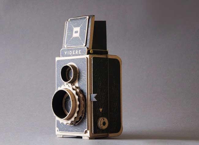 VIDERE Appareil Photo 35mm Carton, Videre, l'Appareil Photo 35mm à Fabriquer en Carton (video)
