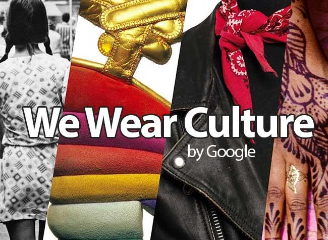 We Wear Culture Google Site