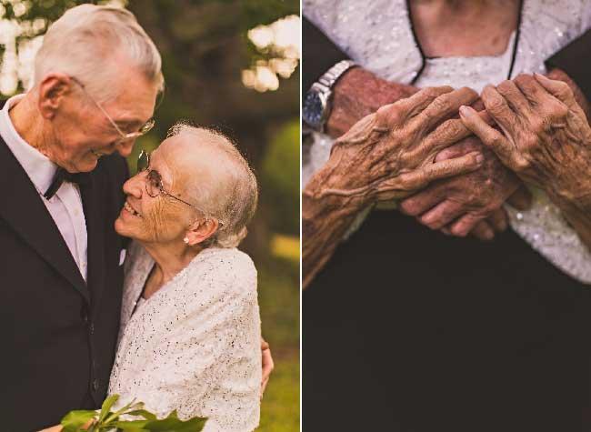 noces palissandre mariage photographie megan vaughan, Pour ses 65 Ans de Mariage ce Couple est Plus que Jamais Uni