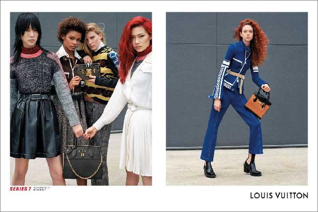 Louis Vuitton Campagne Hiver 2017 2018, Louis Vuitton Invite Catherine Deneuve et des Millennials dans sa Campagne