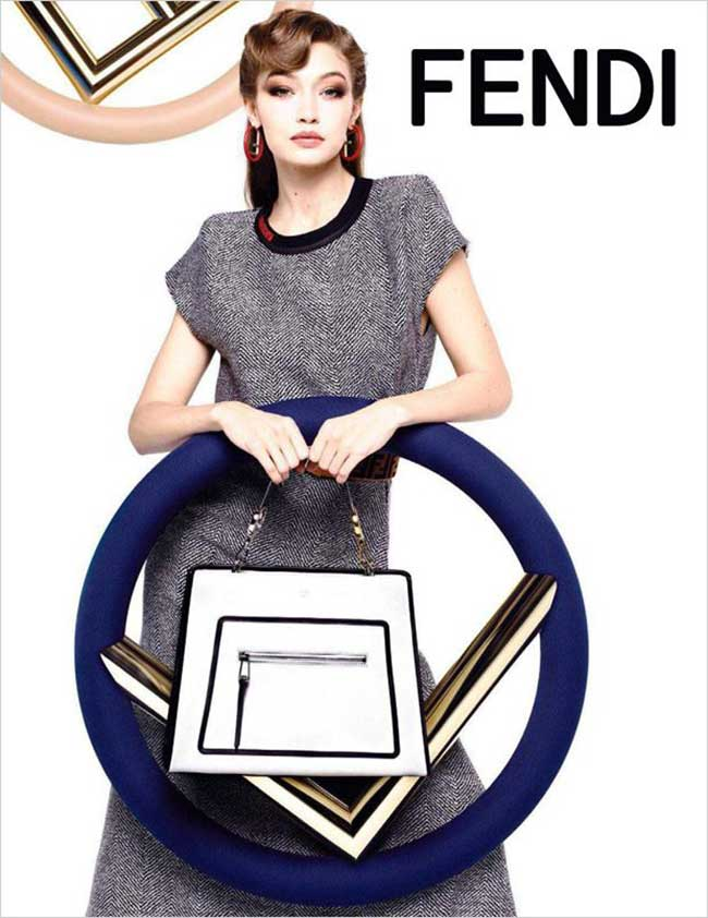 Campagne Fendi Hiver 2017 2018