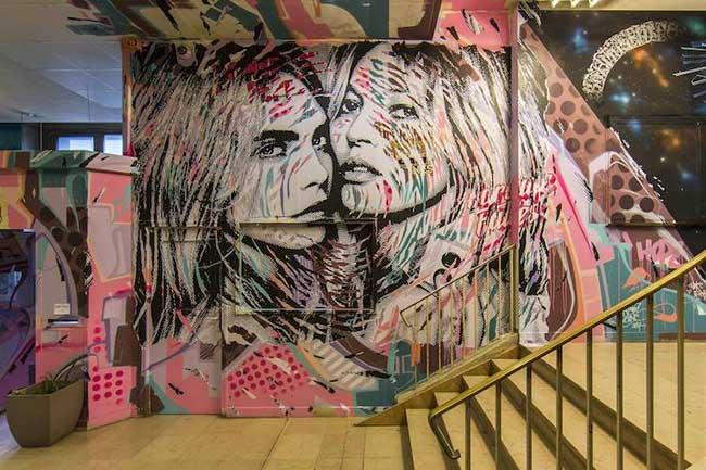 Rehab graffiti art paris