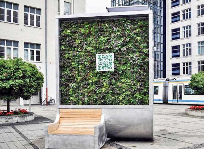 green city solution citytree mur vegetal, Ce Mur Végétal Urbain Purifie l'Air autant qu'une Forêt Entière