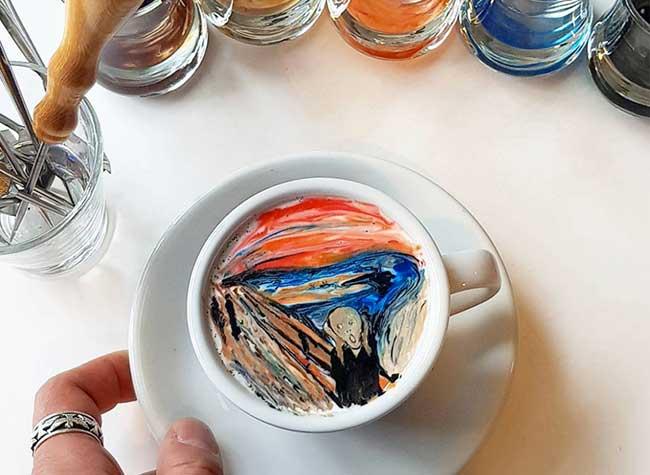 Kang-Bin Lee Peinture Cafe