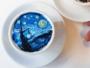 kangbin lee latte art tasses cafe oeuvres 21 90x68 - Il Peint dans du Café des Répliques de Toiles de Maîtres (video)