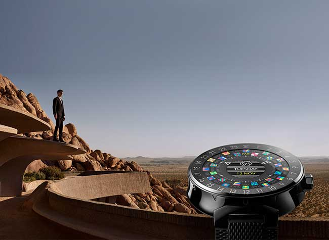 Louis Vuitton Tambour Horizon Montre Connectée iOS Android