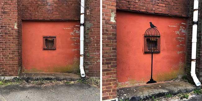 tom bob street art detournement 4 - Ces Détournements d'Objets Urbains Amusent les New-Yorkais