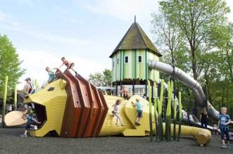 aires de jeu enfants monstrum