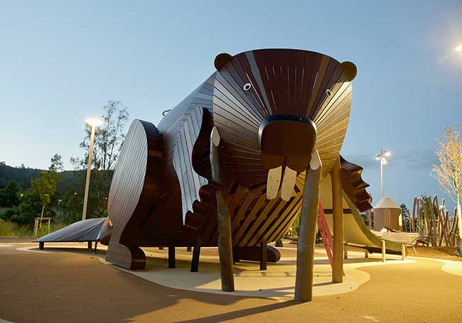 aires de jeu enfants monstrum, Sculptures Géantes pour des Aires de Jeu que les Enfants Adorent
