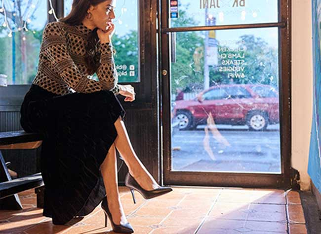 Chaussures Stilettos Antonia Saint NYBaskets, Ces Stilettos sont aussi Confortables que des Baskets (video)