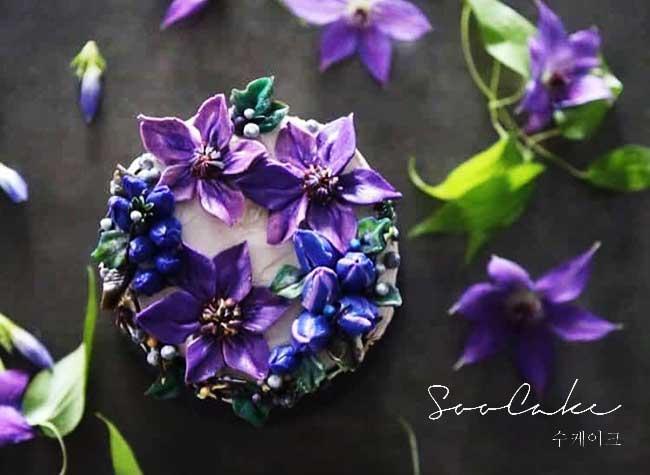 gateaux fleurs atelier soo