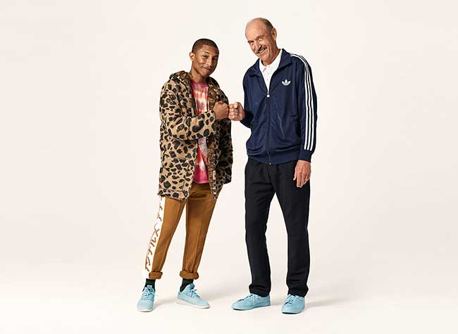 Adidas Icon Pack Stan Smith Pharrell Williams, Stan Smith et Pharrell Williams Réinventent leurs Iconiques Baskets