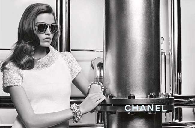 Lunettes Soleil Chanel Optiques, Retour des Lunettes Rétro Glam Chic chez Chanel