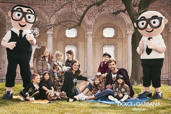 Campagne Dolce Gabbana Enfants Hiver 2017 2018