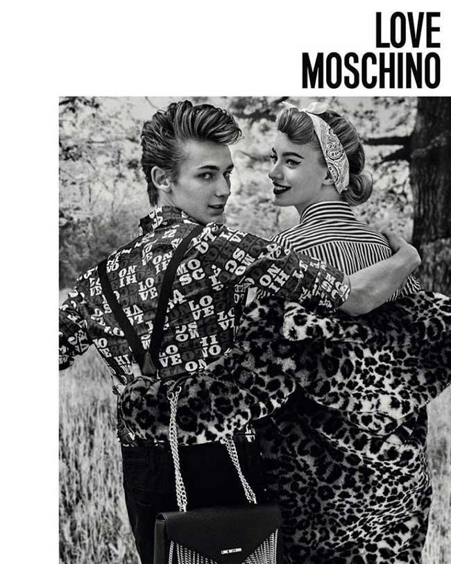 Love Moschino Campagne Hiver 2017 2018, Rock-and-Roll Attitude pour Love Moschino l'Hiver Prochain