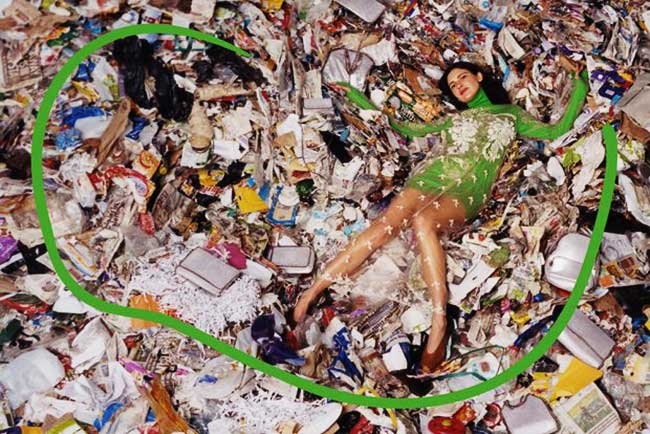 stella mccartney hiver 2017 2018 campagne, Une Campagne 'Trash' pour Stella McCartney cet Hiver  (video)