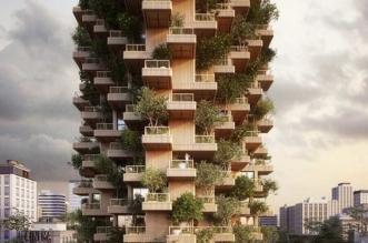 Bois et Plantes pour la Toronto Tree Tower