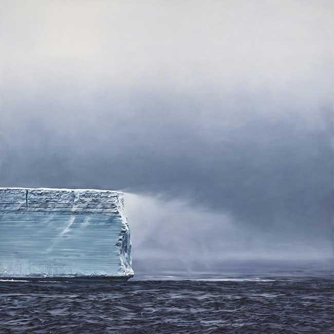 antarctique dessins pastel Zaria forman, L'Antarctique en Dessins Pastel d'un Réalisme Époustouflant
