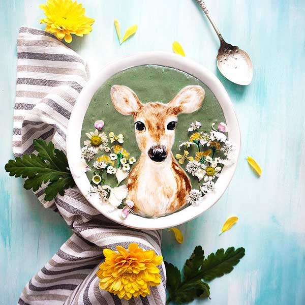 Hazel Zakariya Food Art
