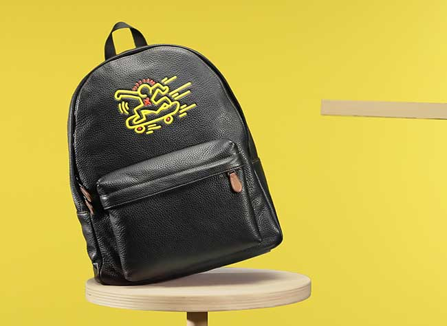 COACH x Keith Haring, Coach x Keith Haring pour une Collection Capsule Artistique (video)