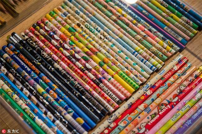 Collectionneur Crayons Couleurs