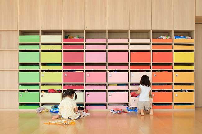creche ropponmatsu couleurs japon, Au Japon cette Crèche Met de la Couleur dans la Vie des Enfants