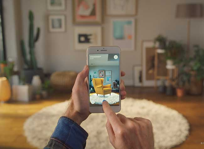 IKEA Place Application Mobile iPhone