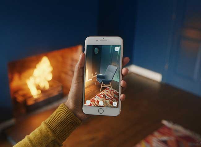 ikea place realite augumentee mobilier 3d iphone 4 - Essayer Virtuellement le Mobilier IKEA chez vous avec l'iPhone (video)