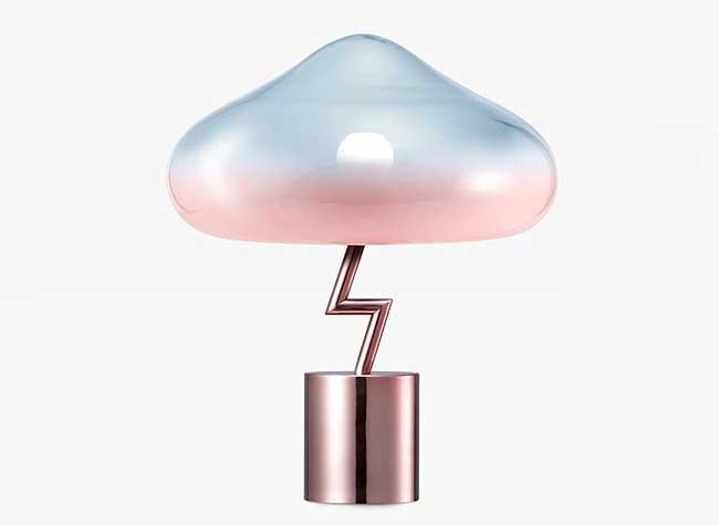 Jiyoun Kim Lightning Lamp Nuage