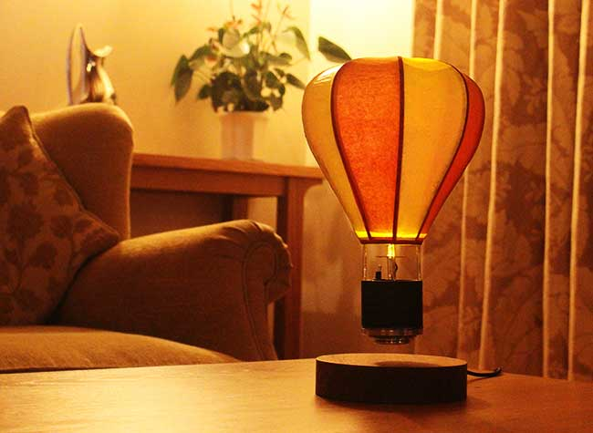 Float Lamp Montgolfiere Levitation