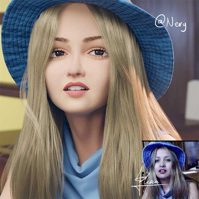 lance phan artiste transforme photo personnage 3d pixar 10 - Il Transforme votre Portrait en Personnage 3D au Style Disney Pixar