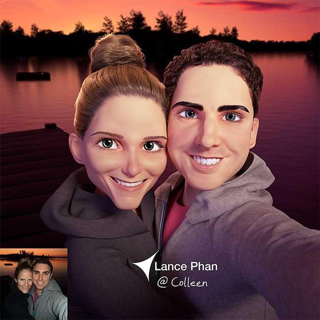 lance phan artiste transforme photo personnage 3d pixar 6 - Il Transforme votre Portrait en Personnage 3D au Style Disney Pixar