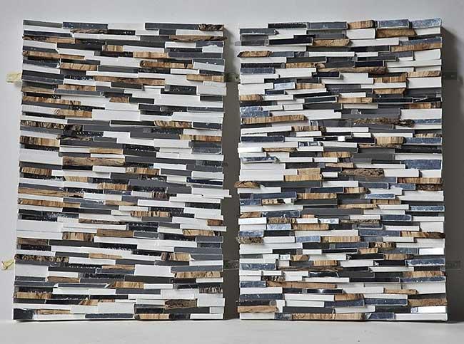 lee borthwick miroir installation art bois 6 - Des Miroirs dans les Bois pour une Installation Artistique