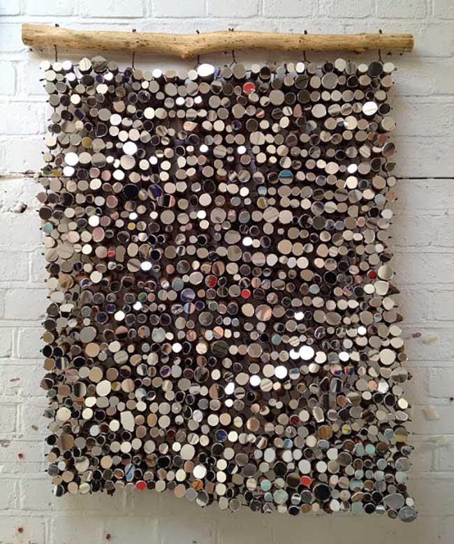 lee borthwick miroir installation art bois 7 - Des Miroirs dans les Bois pour une Installation Artistique