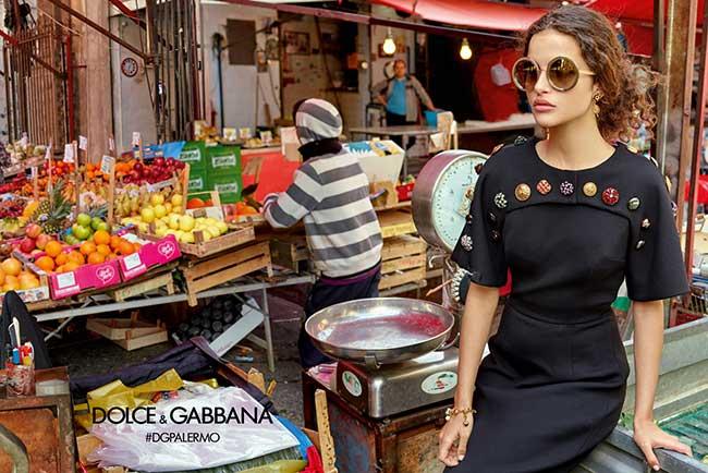 La Femme Dolce Gabbana sort ses Lunettes de Stars a Palerme ... 1f4c2a0ff534