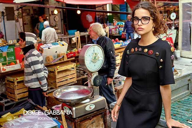 lunettes soleil dolce gabbana femme hiver 2017 2018, La Femme Dolce Gabbana sort ses Lunettes de Stars a Palerme