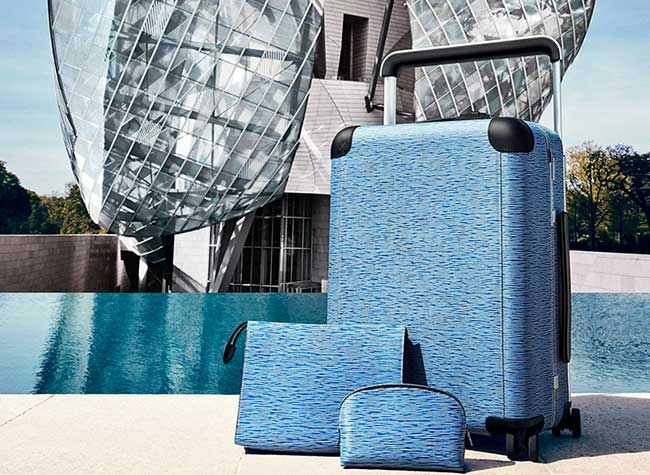 Louis Vuitton Marc Newson Valises Horizon, Pour Louis Vuitton, Marc Newson Réinvente la Valise à Roulettes