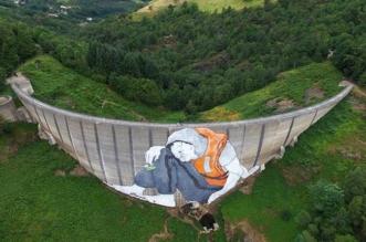 barrage street art crise réfugiés ella pitr