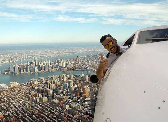 PilotGanso Selfies Pilote Avion, PilotGanso, le Pilote de Ligne qui Fait des Selfies en Plein Vol