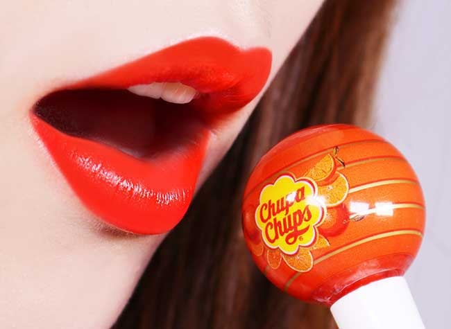 Chupa Chups Sucette Rouge a Levres