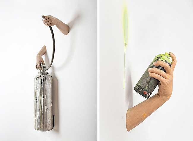Sculpture Sergio Garcia, Sculptures d'Objets Recyclés par un Artiste Totalement Déjanté