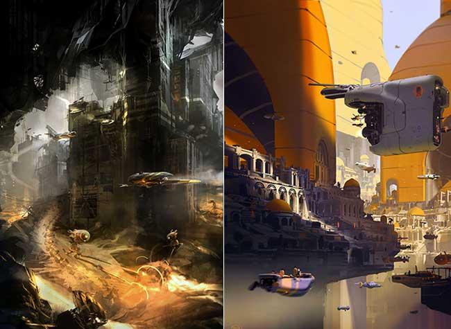 sparth nicolas bouvier art digital, Cet Artiste Digital Passionné d'Architecture nous Invite au Voyage