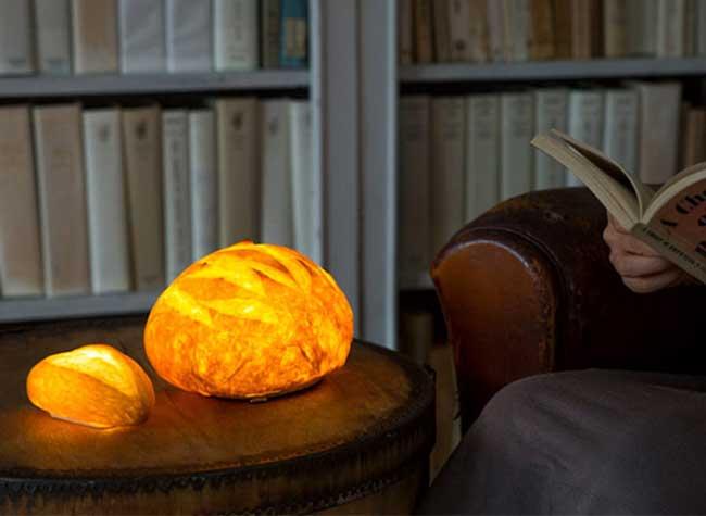 Lampes Yukiko Morita Pampshade, Ces Croustillants Pains et Viennoiseries sont des Luminaires