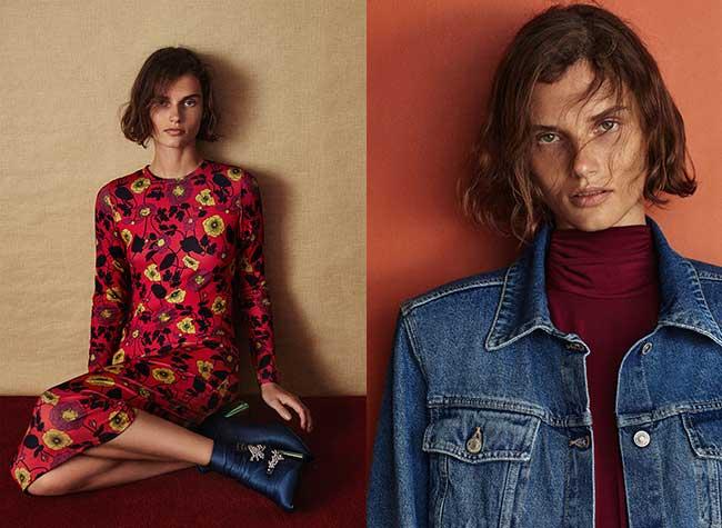 zara femme automne 2017, Une Rentrée Années 70 et Fleurie pour Zara Femme
