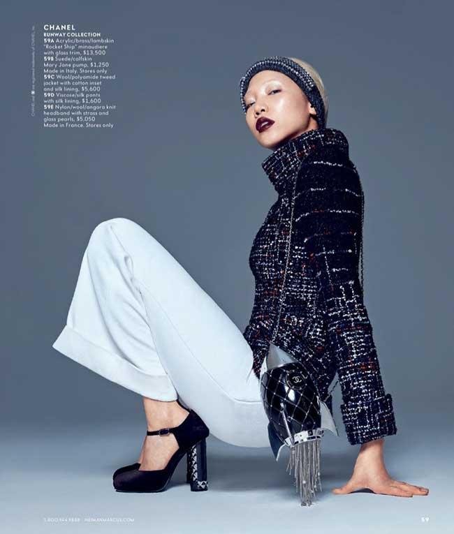 art fashion neiman marcus campagne automne hiver 2017 3 - The Art of Fashion Automne Hiver 2017 par Neiman Marcus