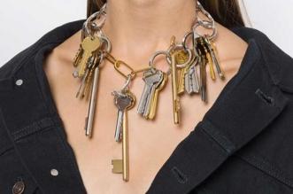 Collier Bracelet Clés Balenciaga