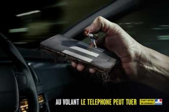 Au Volant Telephoner Peut Tuer Campagne
