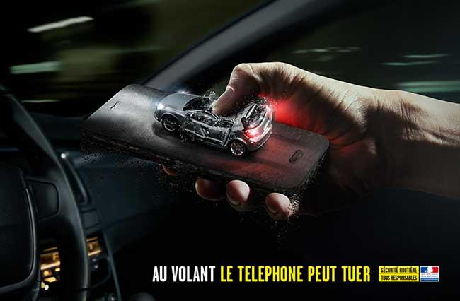 campagne securite routiere volant telephone peut tuer 3 - Au Volant, le Téléphone c'est Mortel comme dans cette Campagne