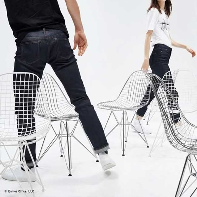 collection sprz ny uniqlo eames, Le Monde des Designers Charles et Ray Eames chez Uniqlo (video)