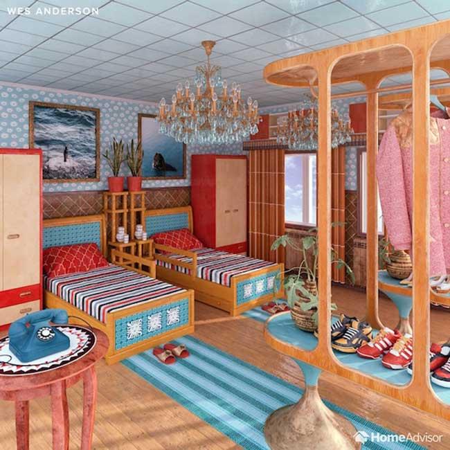 decoration chambre coucher film cinema decor 1 - 7 Décorations de Chambres à Coucher Inspirées de Films Cultes